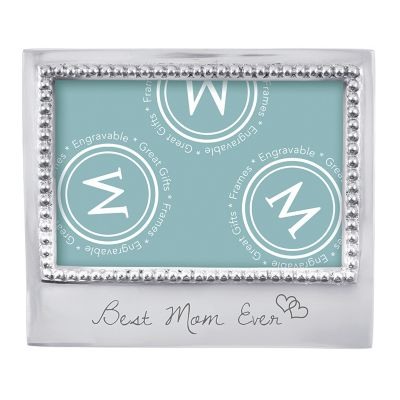 "Mariposa Best Mom Ever 4x6"" Frame"