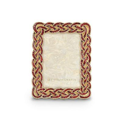 Jay Strongwater Aileen Bouquet Braided 3.5X5 Frame