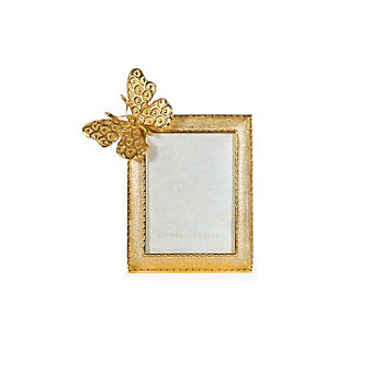 Jay Strongwater Juno Butterfly 3X4 Frame