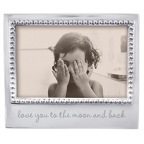 "mariposa_""love_you_to_the_moon_and_back""_4x6_picture_frame"