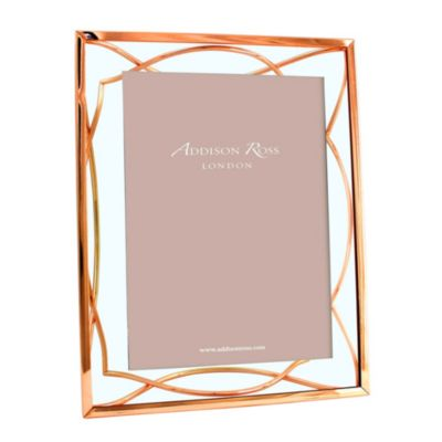 addison ross 5x7 elegance frame, rose gold