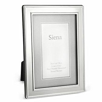 Tizo Siena Silverplate 4x6 Picture Frame
