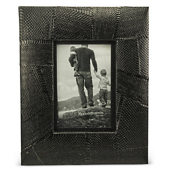 "Reed & Barton Panama 4"" x 6"" Black Frame"