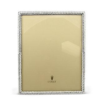 """L'objet Platinum Deco Twist Frame, 8"""" x 10"""""""