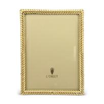 """L'Objet_Gold_Deco_Twist_Frame,_5""""_x_7"""""""