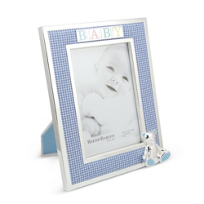 """Reed_&_Barton_Gingham_Bear_Picture_Frame,_4""""_x_6"""""""