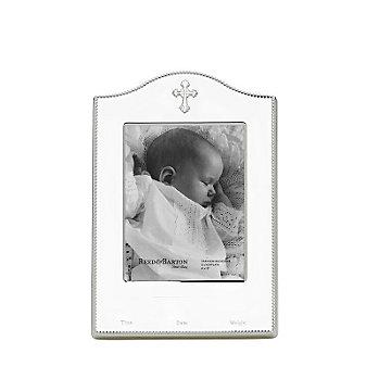"Reed & Barton Abbey Birth Record Frame, 4"" x 6"""