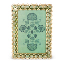 "Jay_Strongwater_Leaf_Lana_Cabochon_Frame,_4""x6"""