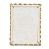 """Jay_Strongwater_Lucas_Stone_Edge_5""""x7""""_Frame,_Gold"""