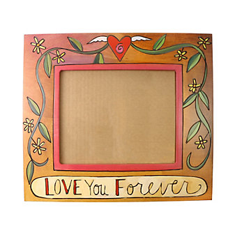 "Sticks 8"" x 10"" Love You Forever Picture Frame"