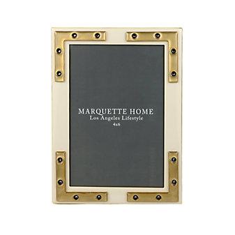 marquette home connor alabaster frame, 4x6