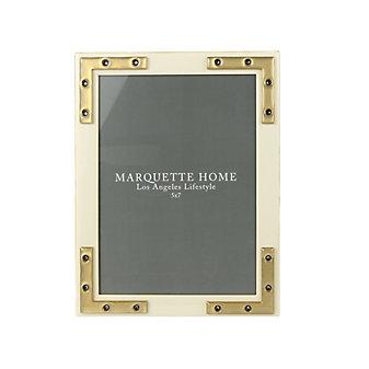 marquette home connor alabaster frame, 5x7