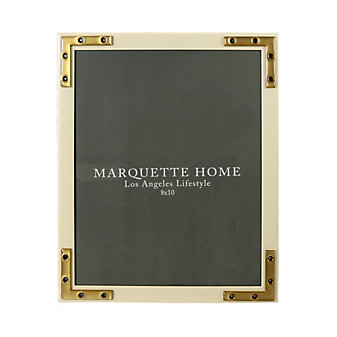 marquette home connor alabaster frame, 8x10
