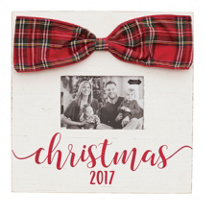 mud_pie_christmas_2017_tartan_bow_picture_frame