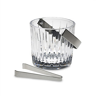 Miller Rogaska Soho Ice Bucket with Tongs