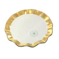 Annieglass_Ruffle_Dessert_Plate