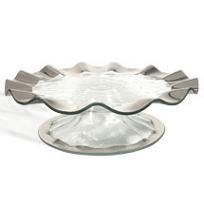 Annieglass_Ruffle_Pedestal_Cake_Plate