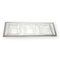 Annieglass_Roman_Antique_Three_Section_Tray
