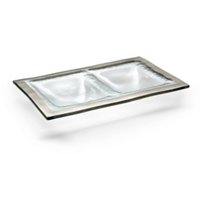 Annieglass_Roman_Antique_Two_Section_Dish