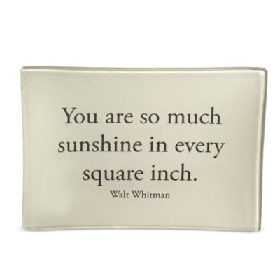 Ben's Garden Sunshine Quote Tray