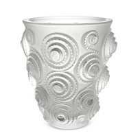 "Lalique_Spiral_Small_Vase,_H_6.50""_D_5.714"""