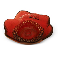 Lalique_Anemone_Red