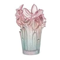 Daum_Amaryllis_Jade_and_Pink_Vase