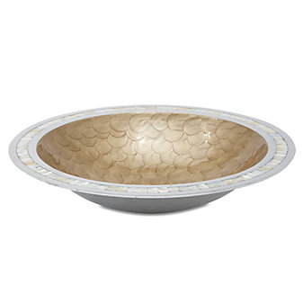 Julia Knight Toffee Classic Round Bowl, 15""