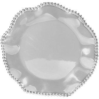 Mariposa Wavy Round Platter