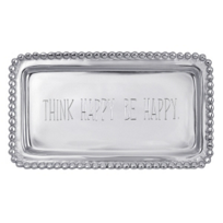 "Mariposa_""Think_Happy_Be_Happy""_Tray"