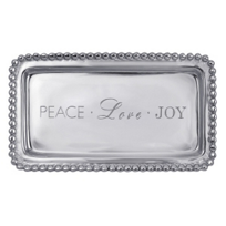 "Mariposa_Peace_Love_Joy_Tray,_3.75""_W_x_6.75""_L"