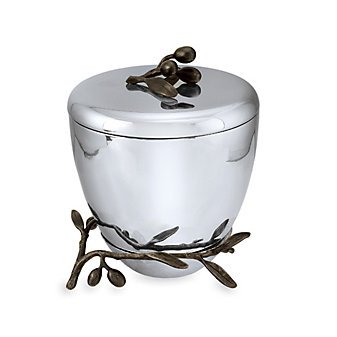 Michael Aram Olive Branch Ice Bucket with Holster
