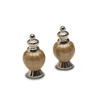 Julia_Knight_Toffee_Peony_Salt_&_Pepper_Shakers,_4""