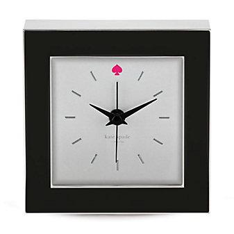 Kate Spade Cross Pointe Black Clock