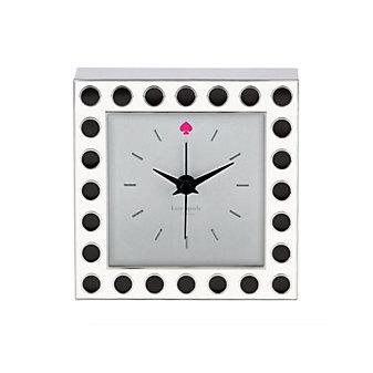 Kate Spade Cross Pointe Spot Clock