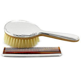 Reed & Barton Georgia Girl's Brush and Comb Set