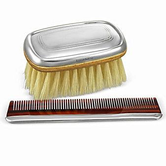 Reed & Barton Kent Boy's Bursh and Comb Set