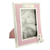 "Reed_&_Barton_Gingham_Bunny_4""_x_6""_Frame"