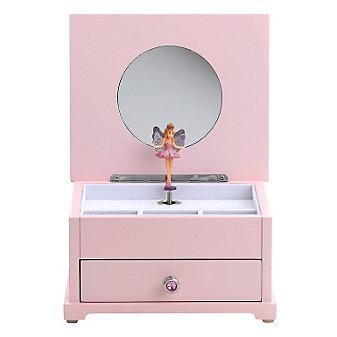 "Reed & Barton Fairy Princess Musical Jewelry Box, 7 1/2"" X 6 1/4"" X 4 1/4"""