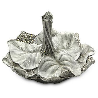 Jay Strongwater Leaf Ring Dish