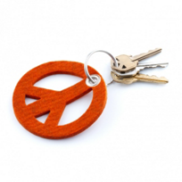 Graf_&_Lantz_Peace_Sign_Key_Fob