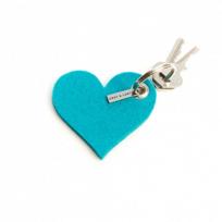 Graf_&_Lantz_Heart_Key_Fob,_Turquoise