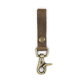 RUSTICO SUPER LOOP KEYCHAIN - DARK BROWN