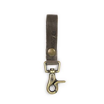 RUSTICO SUPER LOOP KEYCHAIN - CHARCOAL