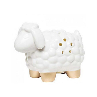C.R. GIBSON SHEEP PORCELAIN NIGHT LIGHT