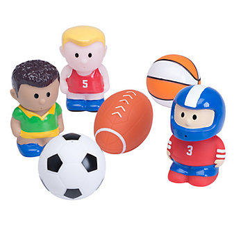 Elegant Baby Sports Party Bath Squirties