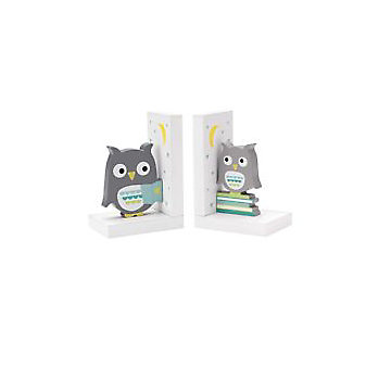 Reed and Barton Hazenut Hollow Owl Bookends