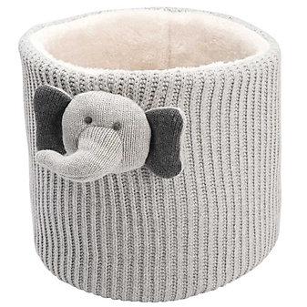ELEGANT BABY CROCHET STORAGE - ELEPHANT
