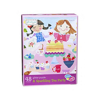 C.R. GIBSON A SPARKLING TEA PARTY PUZZLE