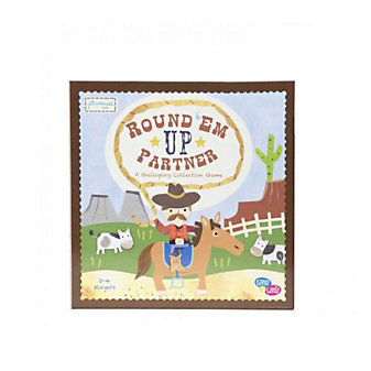 C.R. GIBSON ROUND 'EM UP PARTNER BOARD GAME